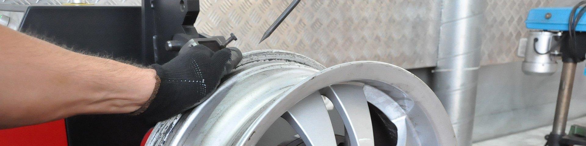 Prostowanie felg aluminiowych Gliwice